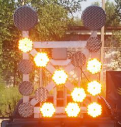 Strzała LED na samochód 15M2PS - składana